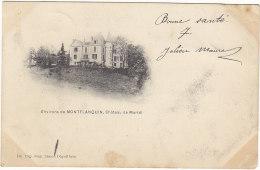 47 - Environs De Montflanquin - Château De Martel - BE - éd Déguilhem - Monflanquin