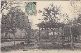 47 - FUMEL - L'Esplanade Et Le Kiosque - BE - éd Perret - Fumel