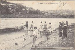 47 - AGEN - La Pêche Aux Aloses - BE - éd Perret N°52 - Agen