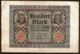 100 Mark, Reichsbanknote. (Berlin) 01/10/1920. Allemagne/Germany. - [ 3] 1918-1933 : République De Weimar