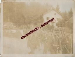 Photographie De Gerardmer 88 -  Bataillon De Soldats    ( Recto Et Verso ) - Lieux