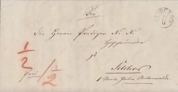 Preussen Brief K1 Storckow 11.11. 1842 - Preussen