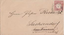 DR Brief EF Minr.25 Nachv. Stempel Hildburghausen 7.1.74 - Deutschland