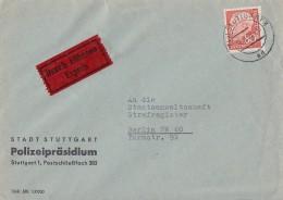 Bund Brief Eilbote EF Minr.264 Stuttgart 18.9.59 - BRD
