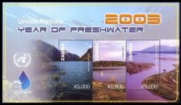 Zambia, United Nations Year Of Water, Victoria Falls, Lake Kariba, Cabora Bassa Dam, Mana Pools National Park - Protezione Dell'Ambiente & Clima