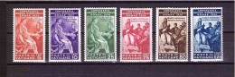 VATICAN 1935 Juridical Congress Cpls Set Of 6 Stamps Sassone  Cat. N° 41/46 Mint Hinged - Vatican