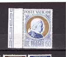 VATICAN 1951 Gold Pope Stamps Sassone  Cat. N° 147 Mint  Hinged - Vatican