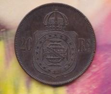 @Y@  Brazilie  20  Reis  1869   (2996 ) - Brésil