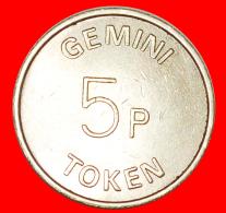 § GEMINI: GREAT BRITAIN ★ 5 PENCE! LOW START ★ NO RESERVE! - Professionnels/De Société