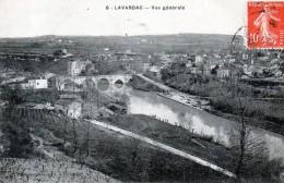 47 -   LAVARDAC -  Vue Générale - France