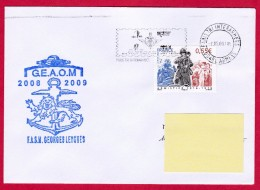 Frégate Georges Leygues, GEAOM 2008-2009, Oblit. Mécanique Paris Tri Interarmées 2009, Armistice 1914-1918 (3193) - Naval Post