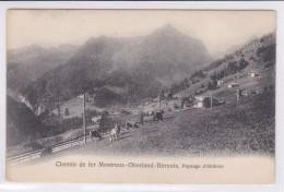 Chemin De Fer M.O.B. Paysage D'Allières - FR Fribourg