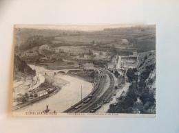 COMBLAIN AU PONT Panorama Sur Douxflamme Et Le Pont - Occupation Allemande - Comblain-au-Pont