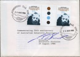 Antarctic Research - 1983  Australian Antarctic Canberra Treaty Traffic Light Pair Comm. 50 Yr Australian Antarctic - Antarktis-Expeditionen