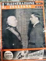1941 'ILLUSTRAZIONE ITALIANA' ANTE PAVELIC A ROMA, CROAZIA, IL RE IN ALBANIA.... - Riviste & Giornali