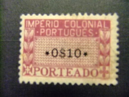 AFRIQUE PORTUGAISE AFRICA PORTUGESA 1945 Sello TAXE Yvert 1 * MH - Afrique Portugaise