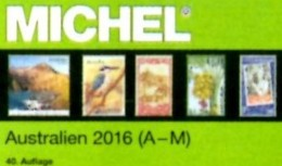 MICHEL Katalog 2016 Australien A-M Teil 7/1 Neu 84€ Stamps Catalog Australia Antarktis Cook Falkland Fiji Kokos Marshall - Literatur & Software