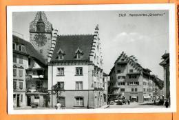 FAL-026  Zug Renoviertes Grosshus.  Gelaufen In 1929 - ZG Zoug