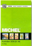 MICHEL Katalog 2016 Australien A-M Teil 7/1 Neu 84€ Stamps Catalog Australia Antarktis Cook Falkland Fiji Kokos Marshall - Telefonkarten