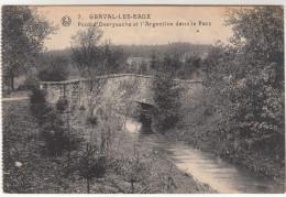 Genval Les Eaux, Pont D'Overyssche Et L'Argentine Dans Le Parc (pk29622) - Rixensart