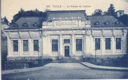 19  Corrèze  -  Tulle    ,  Le  Palais  De  Justice - Tulle