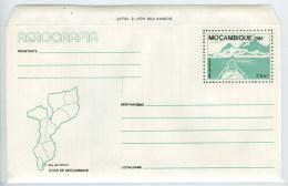 Mozambique Entier Postal Aerogramme Ile De Inhaca 1986 Moçambique Postal Stationary Inhaca Island - Mozambique