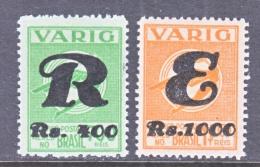 BRAZIL  VARIG V 43-4    **   * - Airmail (Private Companies)