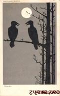 "NOCTURNE SERIES "" SCANDAL "" MOON BIRDS RAVENS ENGLAND ILLUSTRATOR OISEAU CORBEAU - 1900-1949"