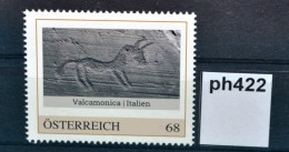 Ph422 Valcamonica, Italien, Felsbilder, UNESCO Weltkulturerbe, AT 2016 ** - Private Stamps