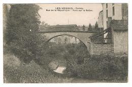 DARNEY.  Rue De La République - Pont Sur La Saône. - Darney