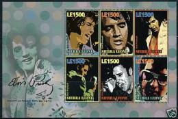 SIERRA LEONE SHEET ELVIS PRESLEY - Elvis Presley