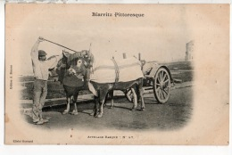 64 - BIARRITZ PITTORESQUE . N° 47 . ATTELAGE BASQUE - Réf. N°15014 - - Biarritz