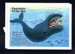 SIERRA LEONE SHEET FANTASIES OF THE SEA - Non Classificati