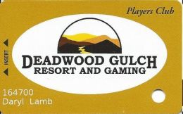 Deadwood Gulch Resort & Gaming Deadwood, SD Slot Card - Casino Cards