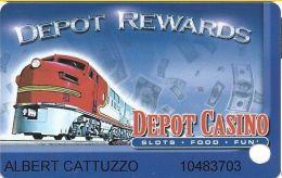 Depot Casino Dayton, NV Slot Card - Casino Cards