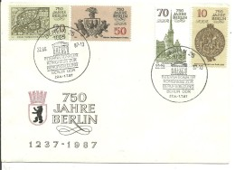 FDC DDR 1987 - UNESCO