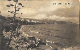 Saluti Da San Remo - La Spiaggia - San Remo