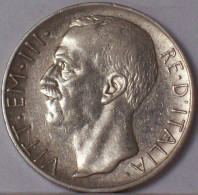 Vittorio Emanuele III 10 Lire 1927 BIGA ARGENTO SILVER - 1861-1946 : Regno