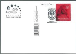 3970 Hungary FDC Postcard Education School Personality Ferenc Rakoczi II - Stamps