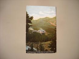 CANADA ALBERTA BANFF CANADA  BANFF SPRINGS HOTEL AND SULPHUR MOUNTAIN - Banff