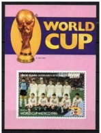 VINCENT GRENADINES UNION SHEET WORLD CUP MEXICO 1986 SOCCER FOOTBALL COUPE DU MONDE - World Cup
