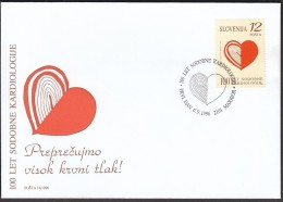 Slovenia Maribor 1996 / 100th Anniversary Of Modern Cardiology / Medicine / Hart - Medicina