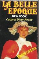 """Boîte D'allumettes Publicitaire """"La Belle Epoque"""" Cabaret Diner Revue -30 Rue Des Petits Champs 75002 Paris - Boites D'allumettes"""
