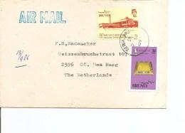 Brunei ( Lettre Par Avion De 1984 De SeriaBrunei Vers Les Pays-Bas à Voir) - Brunei (1984-...)