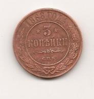 3 Kop 1868 TTB - Russland