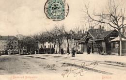 CPA BEAUNE (21) Boulevard Bretonniere - Beaune