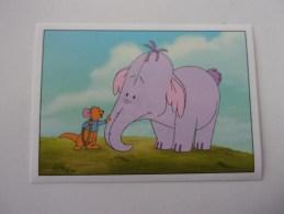 PANINI  Winnie L'ourson Et L'éfélant / Disney /  N°144 - Panini