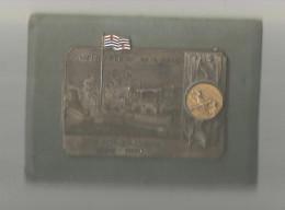 Médaille 9.5 X 7 Sur Support , Italie , CANOTTIERI MILANO GO° FONDAZIONE , 1890-1950 , Frais Fr : 4.25€ - Italia