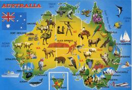 MAP - PEER PRODUCTIONS - AUSTRALIA - Maps