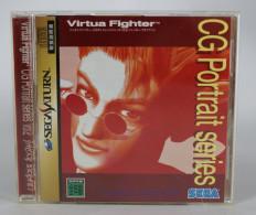 Sega Saturn Japanese : Virtua Fighter CG Portrait Series Vol.2 Jacky Bryant GS-9064 - Sega